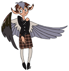 Cute Harpy by WitchyStella