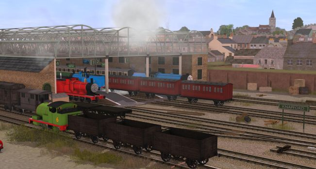 Twas a busy Day by No1ThomasFan