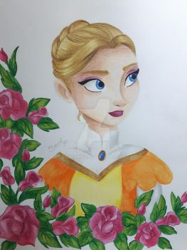 Once Upon a Time - Helga by Elveariel