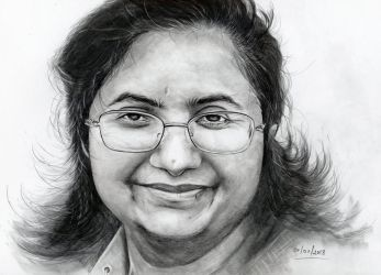 Day 1 - New drawing every day - 2018 by shonechacko