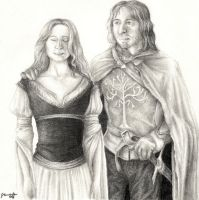 Eowyn and Faramir by