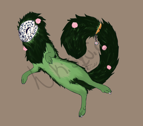 Rose Garden tea beast ADOPTED by jennovazombie