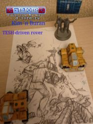 TESH-driven rover by Dlordtesh