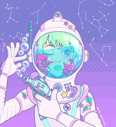 Space Bae by King-Lulu-Deer