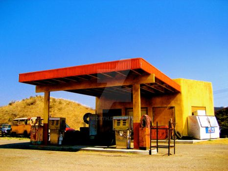 Last Stop for Gas 3 by wayworth