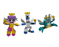 LDD Mixels: Fairy Odd Mixes Models by Luqmandeviantart2000