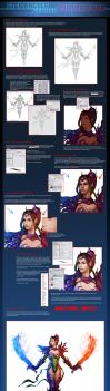 Character Painting tutorial by AdmiraWijaya