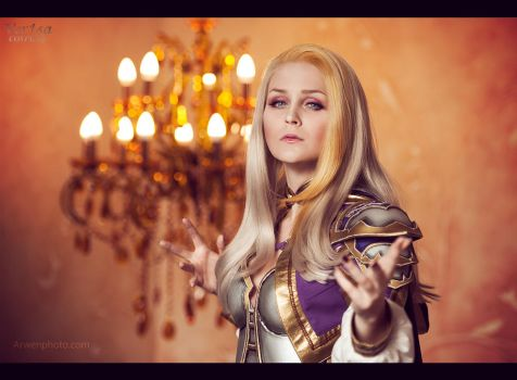 Lady Jaina Proudmoore (Warcraft) by ver1sa
