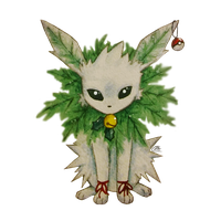 SNOWMON Jolteon! by 2rustywing2