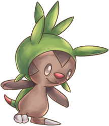 Harimaron | Chespin Commission by AutobotTesla