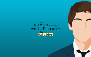The Perks - 'The Outsider' Wallpaper by TributeDesign