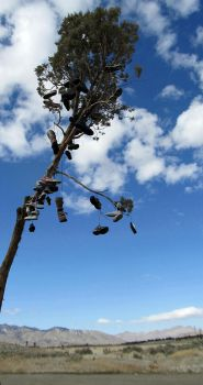 Shoes in the Wind by zannapic