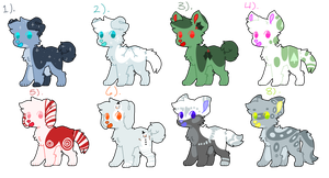 Christmas/Winter Adopts! (Open 6/8) (PRICE LOWERED by MadKingMarc