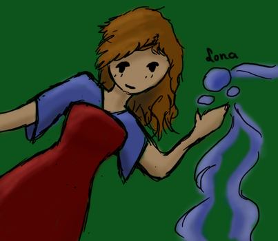 Ilona the Waterbender by xMysteryWriter