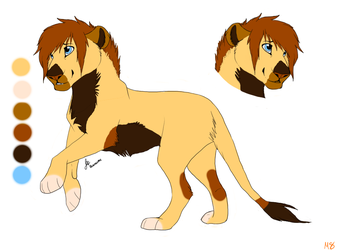Lion Adoptables 2: CLOSED by MoonShineSTP