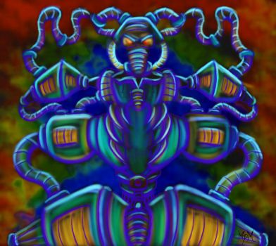 Psychedelic Anomaly by mm2Master