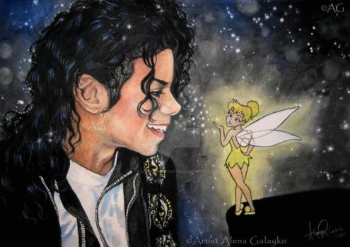 Michael and TinkerBell by AlenaGalayko