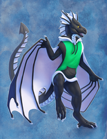 [Commission] Wyvern Hoodie by Scaleeth