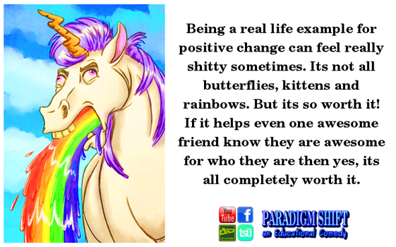 Positive Ain't Always Pretty by paradigm-shifting