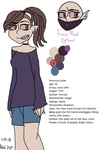 Veronica Leslie Reference Sheet by Patchi2023