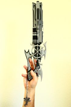 3D Printed Dirge of Cerberus Death Penalty by houssamica