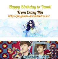 [Pack Cover] #6 Happy Brithday to Yumi by jangkarin