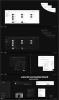 Caps Black and White Theme Win10 October 1809 by Cleodesktop
