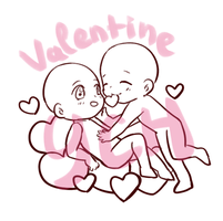 [CLOSED ] YCH - Valentine Couple by Obily