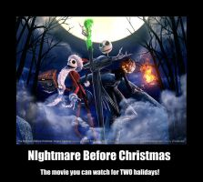 Nightmare Before Christmas by IcecreamPopsickles