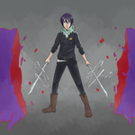 Yato (Noragami) Finished by Red-Baby