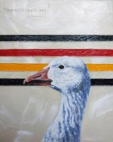 Usual Suspects: Snow Goose by TempestErika