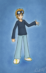 Generic Drawing of Myself by Wonchop