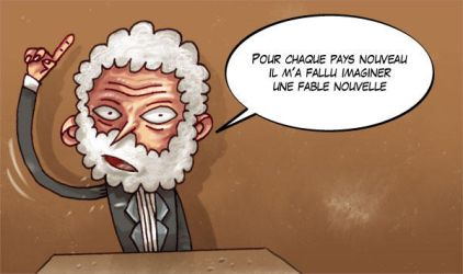 Jules Verne, a French writer by Russeldark