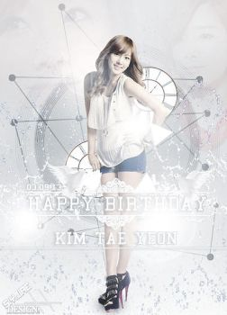 [LATE-UP] TAEYEON BDAY EDIT 2 by ExoticGeneration21