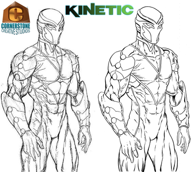 Kinetic for Inktober by Cadre