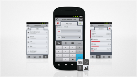CashTrack on Android Market by Syrligt