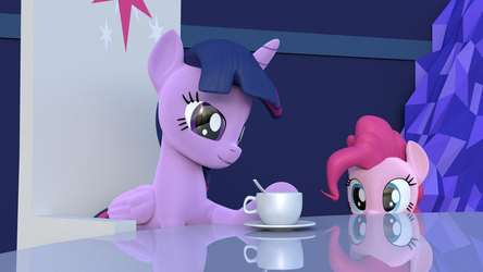 [B3D] [MLP] Coffee by MarcelExE