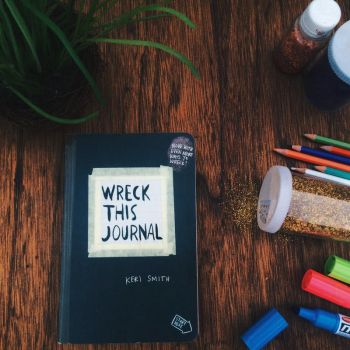 Wreck This Journal by RawanS