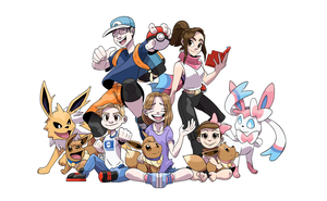 COMM - Pokemon Family by seto
