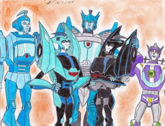 Blurr brothers transformers by ailgara