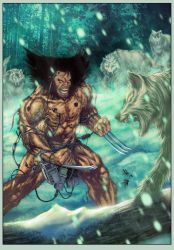 Wolverine Weapon X Marvel by E-Blake