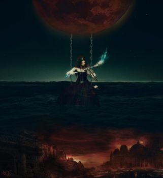 Between The Devil And The Black sea by spower777