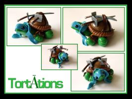 Leonardo the Teenage Mutant Ninja Tortation by Tortations