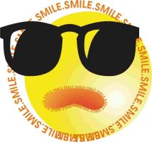 yellow smile by broderwick