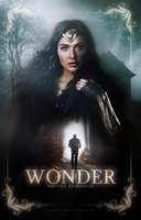 Wonder | Wattpad Cover by newtalism
