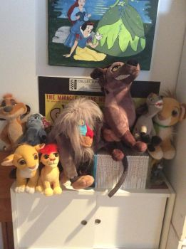 some of my lion king plush collection by aliciamartin851