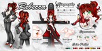 Commission: Reference Sheet: Rebecca by ImHisEternalAngel