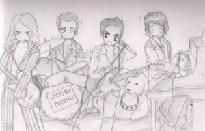 The Top Gear House Band by tehbubblesofneo