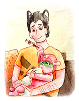 Father's Day, Years Ago by birdmir