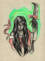 Killer Instinct: Hisako by ToastyLynx